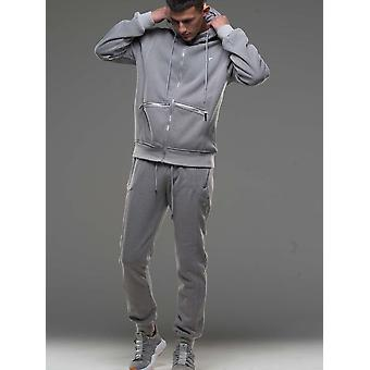 D-ROCK Chase Tracksuit Grey