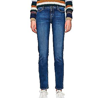 Esprit Women's Stretch Jeans In Straight Line