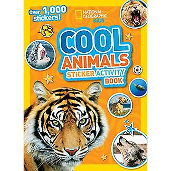 Cool Animals Sticker Activity Book - Over 1 -000 stickers! by National