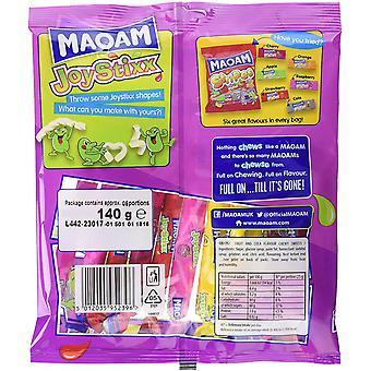 MaoaM Joystixx 1.7kg, dulces a granel, 12 paquetes de 140g
