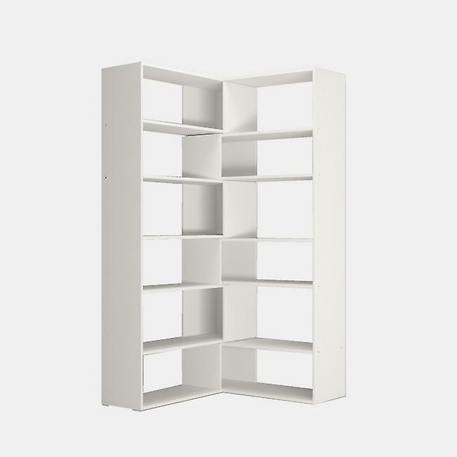 Libreria Twin Color Bianco in Truciolare Melaminico 158x30x179 cm