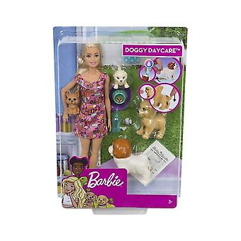 Barbie Doggy Daycare Potty Trainer Playset