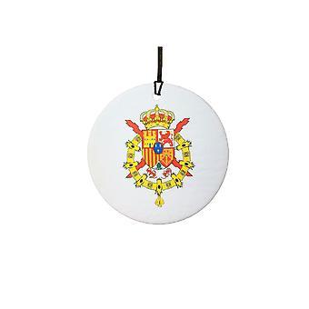 Spanish Crest Coat Of Arms Car Air Freshener