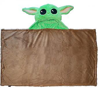 Star Wars Il Mandalorian La Coperta Con cappuccio Bambino