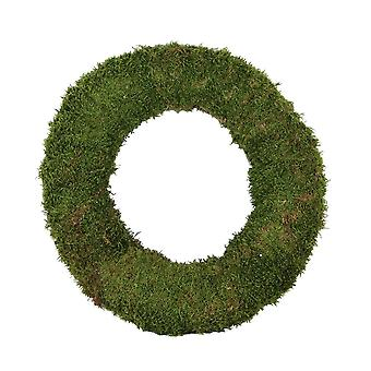 30cm Chunky Moss Wreath Base for Floristry Crafts