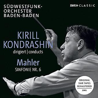 Mahler - Kirill Kondrashin Conducts Mahler Symphony 6 [CD] USA import