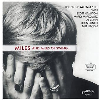 Butch Miles Sextet - Miles and Miles of Swing [CD] USA import