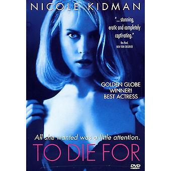 Te sterven voor [DVD] USA import