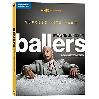 Ballers: The Complete Second Season [Blu-ray] USA import