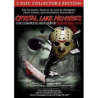 Crystal Lake herinneringen: Complete geschiedenis van vrijdag [DVD] USA importeren