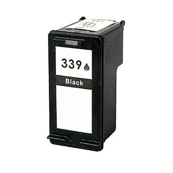 RudyTwos Replacement for HP 339 Ink Cartridge Black Compatible with Deskjet 5740, 5745, 5940, 5950, 6520, 6540, 6540d, 6620, 6840, 6940, 6980, 9800, 9800d Officejet 7313, 7410, 7413, Pro K7100, Pro K7