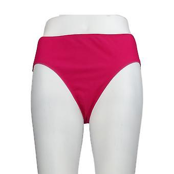 K Jordan Swimsuit Basic Bikini Bottom Pink Swim Brief