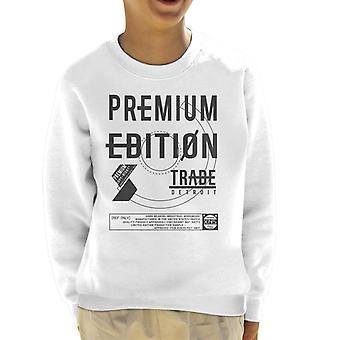 Divide & Conquer Premium Edition Detroit Kid's Sweatshirt