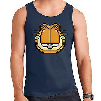 Garfield Pixelated Smug Look Men's Vest