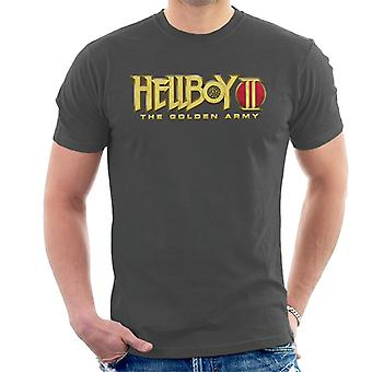 Hellboy II The Golden Army Logo Men's T-Shirt