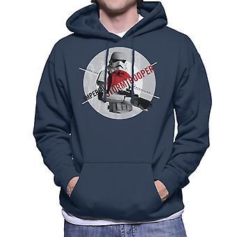 Star Wars Imperial Stormtrooper Crush The Rebellion Men's Hooded Sweatshirt
