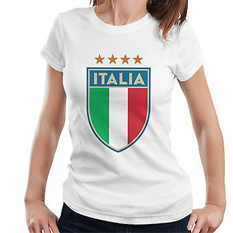 Toff Vintage Football Italy Badge Women's T-Shirt