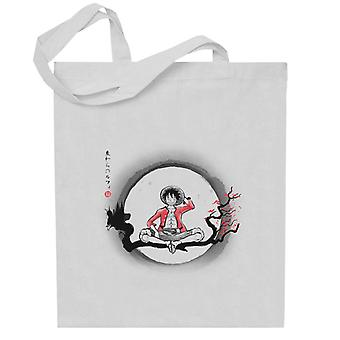 One Piece Straw Hat Pirate Totebag
