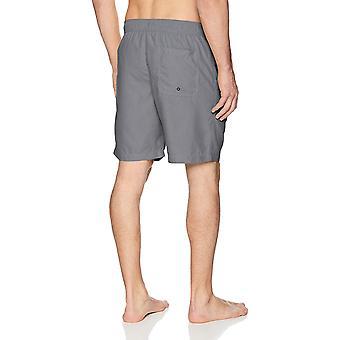 Essentials Men's Quick-Dry 9& Swim Trunk, Drevené uhlie,, drevené uhlie, veľkosť veľké