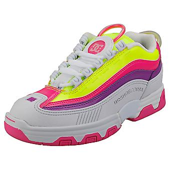 DC Shoes Legacy Og Usa Womens Fashion Trainers in Multicolour