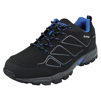 Hi-Tec Mens Walking Waterproof Lace Up Trainers Ripper low WP