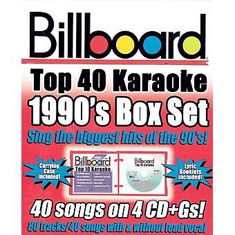 Billboard Top 40 Karaoke - Billboard 1990's Top 40 Karaoke Box Set [CD] USA import