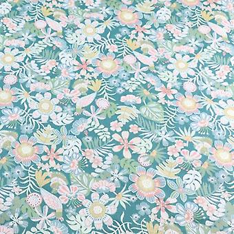Floral Print Cotton Fabric For Making Clothes, Baby Dress, Sewing Bed Sheet,