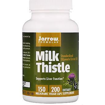 Formules Jarrow, Chardon-Marie, 150 mg, 200 Bonnets végétariens