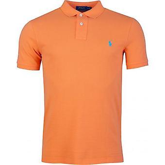 Polo Ralph Lauren Custom Slim Fit Mesh Polo-Shirt