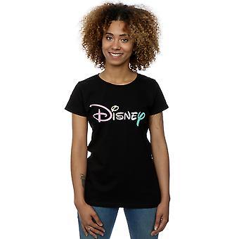 Disney Women's Pastel Logo T-Shirt