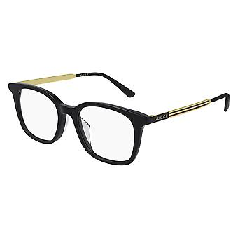 Gucci Asian Fit GG0831OA 001 Black-Gold Glasses