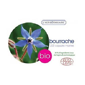 Bourrache olie biologisch 180 capsules van 507,5 mg