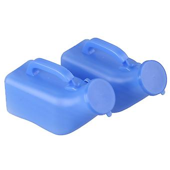 2 x Male Pee Urinal Holder 1000ml Camping Car Travel Toilet
