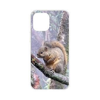 Case For IPhone 12 Pro Max (6.7) Squirrel Flexible