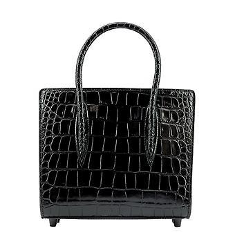 Christian Louboutin 3205287bk01 Women's Black Leather Handtas
