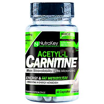 Nutrakey ACETYL L-CARNITINE, 60 Vcaps