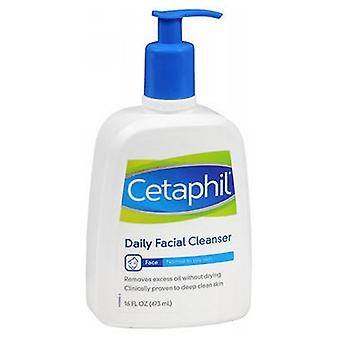 Cetaphil Daily Facial Cleanser For Normal To Oily Skin, 16 oz