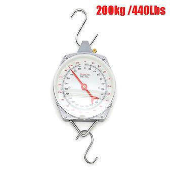 200KG/440lbs Capacity Hanging Scales Mechnical with Hook