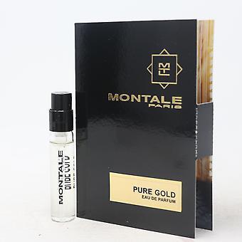 Pure Gold by Montale Paris Eau De Parfum Vial 0.07oz/2ml Spray New