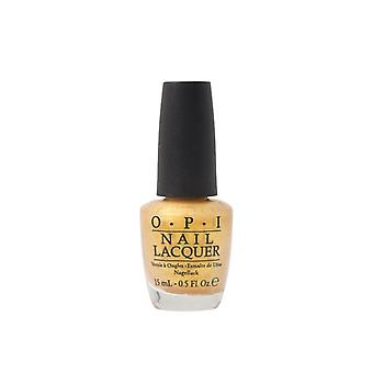 OPI Nail Polish 15ml Oy Another Polish Joke NLE78 Varnish Lacquer Golden Shimmer