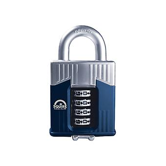 Henry Squire Warrior High-Security Open Shackle Combination Padlock 55mm HSQWC55
