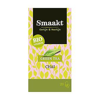 Chai Green Tea 20 infusion bags