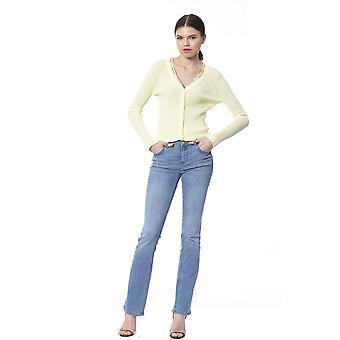 Yellow Pullover Silvian Heach Woman