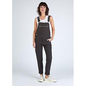 The #2001 full length womens overall - faded black