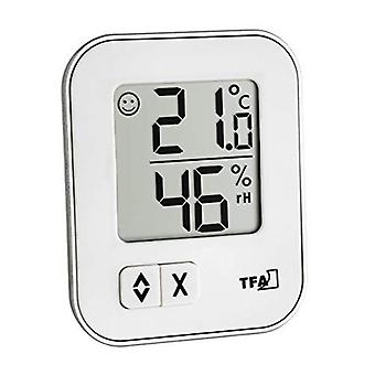 TFA Dostmann 30.5026.02 Moxx Digital Thermo-Hygrometer, Multi-Colour, 9.9 x 7.5 x 2.6 cm