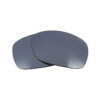 Replacement Lenses for Oakley Sideways Sunglasses Anti-Scratch Silver Mirror