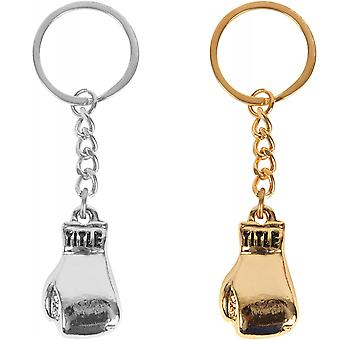 Title Boxing Heavy-Duty Metal Fashion Boxing Glove Keychain