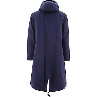 Loewe H526336x575110 Men's Blue Cotton Coat