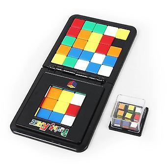 foreldre-barn interaktiv 3d puslespill square rase kube leketøy
