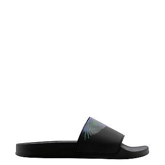 Marcelo Burlon Cmic001r21pla0011069 Men's Black Rubber Sandals